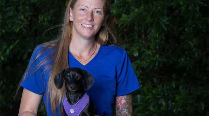 National Vet Tech Week – Erica Sanbouef