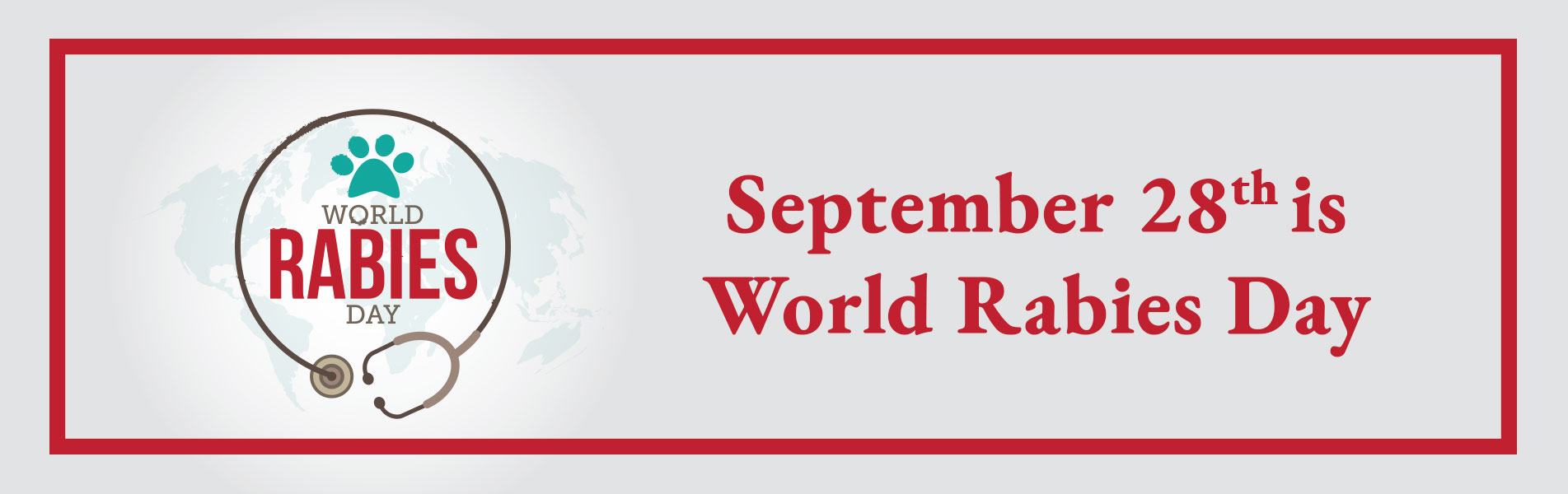 September 28th is World Rabies Day